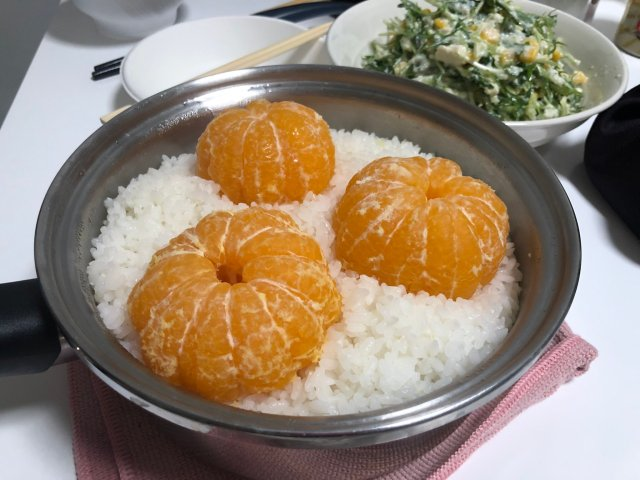 Mikan Gohan: Japanese soul food or…Japanese myth?