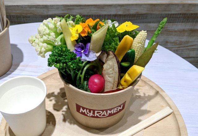 The best-looking ramen in Japan? New store creates beautiful noodle bouquets