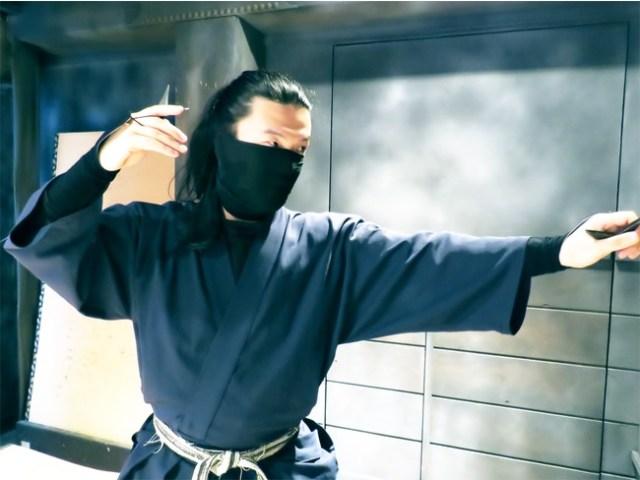 Ninja dojo opens in Tokyo's Asakusa, offers courses in shuriken, stealth, and sensory perception