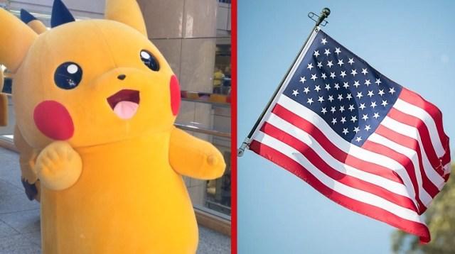 """TV audiences in Japan surprised to see """"Pikachu,"""" """"Raichu"""" as members of U.S. Olympic team"""