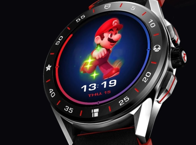 New Super Mario-themed smartwatch gives you animated rewards for reaching fitness goals
