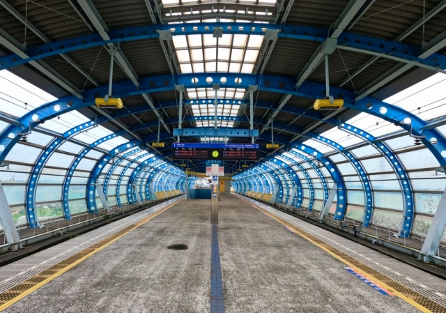 A visit to Japan's train station that looks like a spaceport in the middle of nowhere【Photos】
