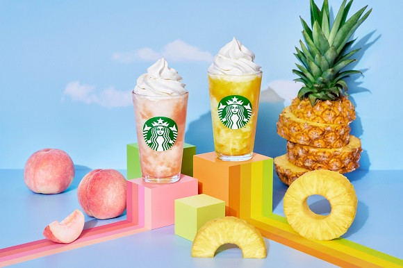 Starbucks introduces reusable Frappuccino cups, plus Go Pineapple and Go Peach Frappuccinos