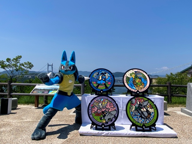 Okayama prefecture to receive its first Pokémon-themed manhole covers【Pics】