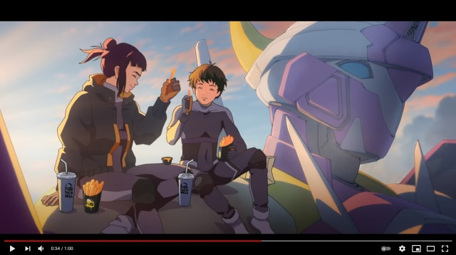 Taco Bell's anime mecha commercial has us emotionally invested in nacho fries【Video】