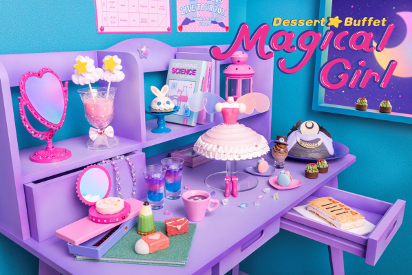 Anime-style magical Girl dessert buffet at Tokyo Disney Sea hotel is full of sparkly sweetness