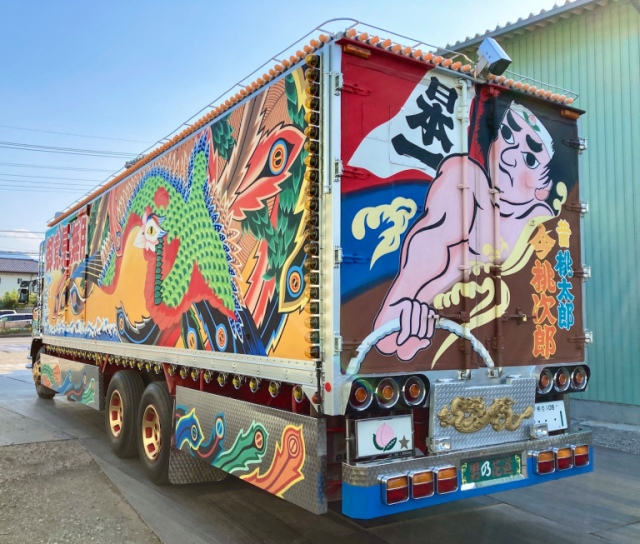 If Fast and Furious was about 1970s Japanese truckers, this dekotora would be the star【Photos】