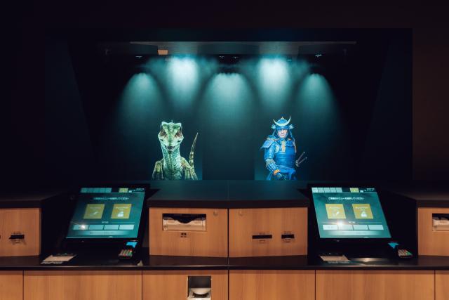 "Samurai, ninja, and anime butlers join dinosaur staff at Tokyo's ""Weird Hotel""【Photos】"