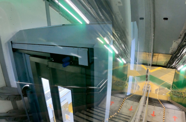 Tokyo station becomes first in the city to install an inclined elevator