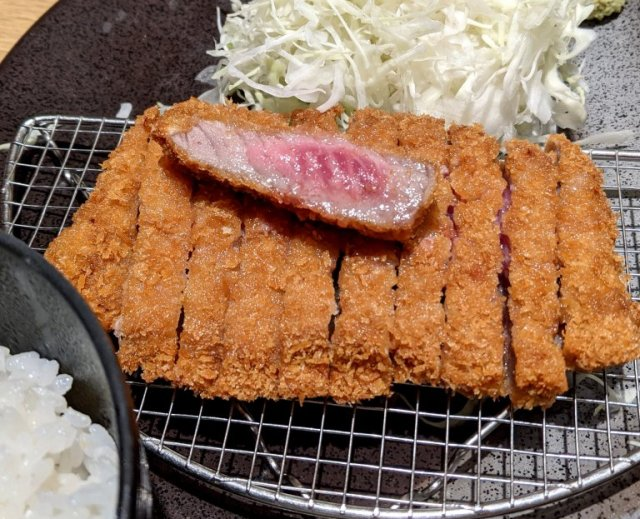 Could you eat 50 beef cutlet refill pieces? If so, this Japanese restaurant will let you eat for free