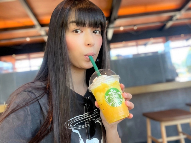 Starbucks Japan's first pineapple Frappuccino, Go Pineapple, should be the Gorogoro Pineapple