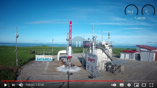 Masturbatory aid rocket launches in Japan【Video】