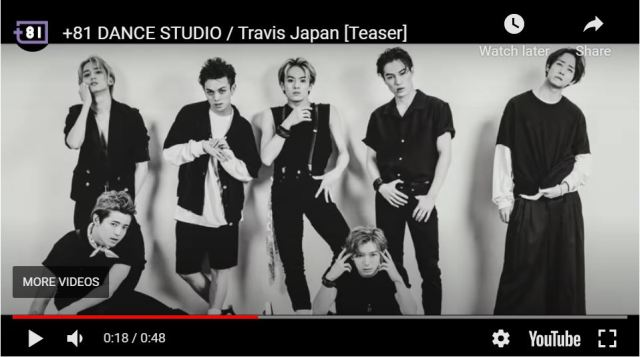Dance the decades away with Travis Japan on their newly dedicated YouTube channel