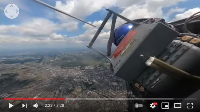 Blue Impulse's cockpit version video gives us an intimate look inside an aerobatic plane 【Video】
