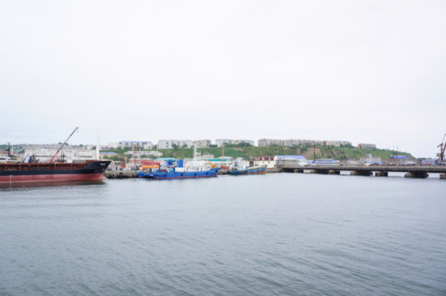 Man claiming to be Russian who swam to Japan seeking asylum appears in Hokkaido town