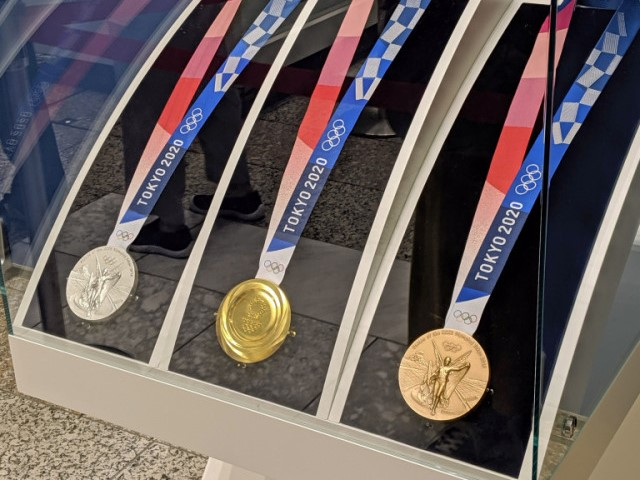 Gold medal bitten by Nagoya mayor is eligible for a replacement