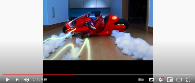 Amazing stop-motion artist recreates Akira anime's most famous sequence with figures【Video】