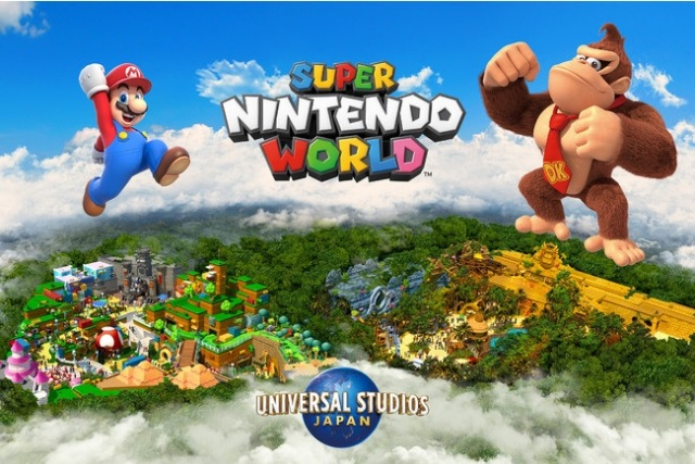 Super Nintendo World at Universal Studios Japan announces first expansion with new Donkey Kong area
