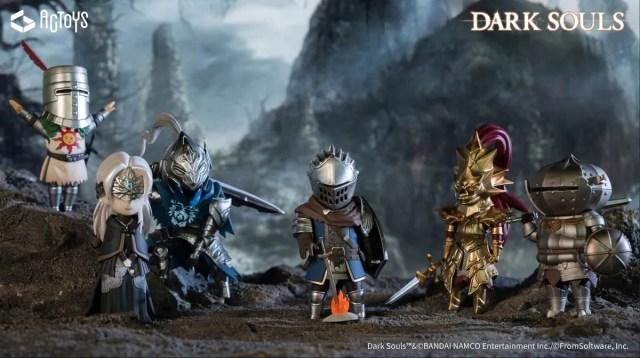 Praise the super-deformed sun! Dark Souls cast becomes adorable SD figures【Photos】