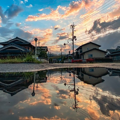 """Whether you look up or down, there's beauty all around in these """"inverted world"""" photos from Japan"""