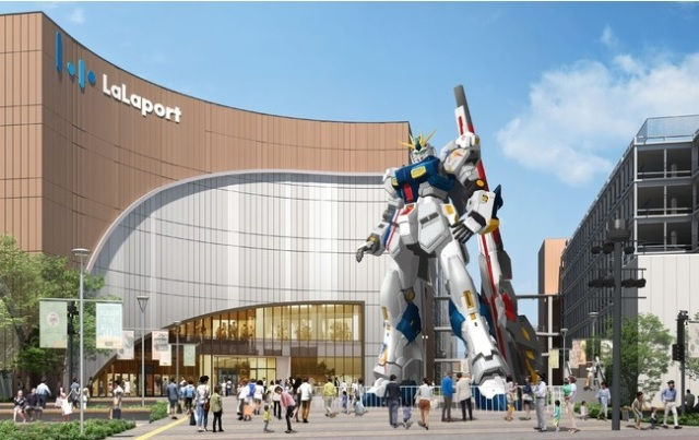 New life-size Gundam statue coming to Japan, and it's a Nu one!
