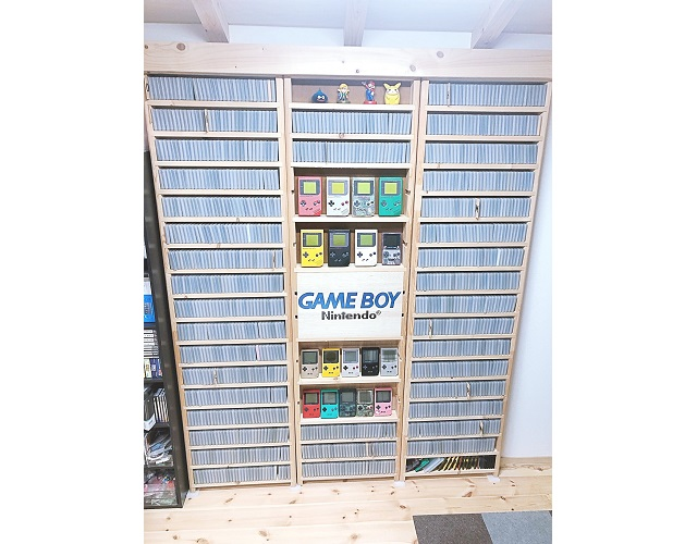 They're all here! Japanese collector completes set of all 1,244 Game Boy games【Photos】