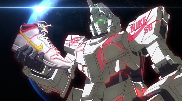 Nike's new anime mecha sneakers look Gundam awesome【Video, photos】