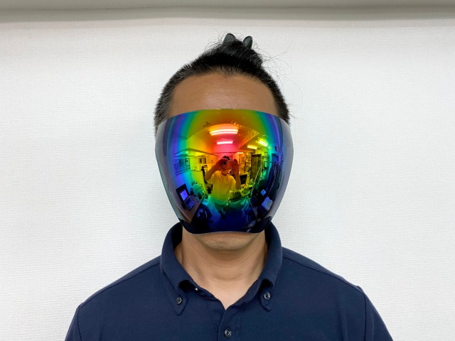The future is now with full face sunglasses