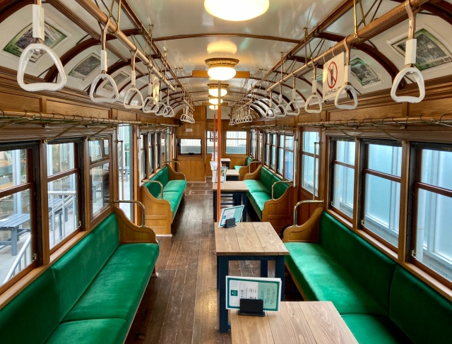 Retro Japanese train is our new favourite office space