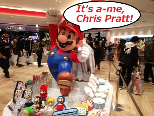 New voice of Super Mario for CG movie is Chris Pratt, Donkey Kong also will appear