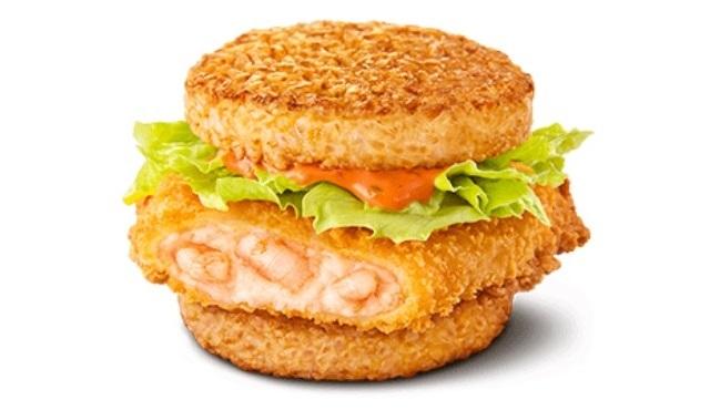 McDonald's Japan adds first-ever shrimp rice burger to menu in gohan sandwich expansion