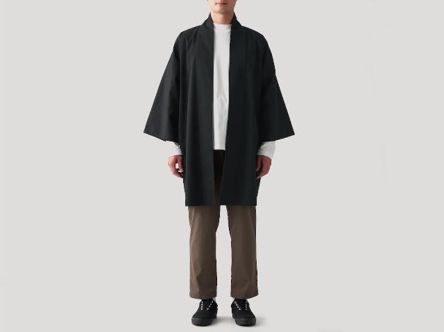 Muji adds Japanese haori samurai coats to their casual wear collection