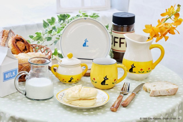 Add some Ghibli magic to the table with scene-stealing goods from Kiki's Delivery Service