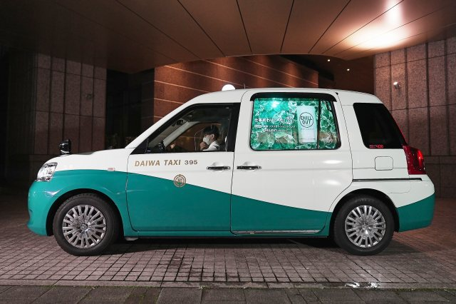Late night? Get a free ride home in a taxi designed for napping