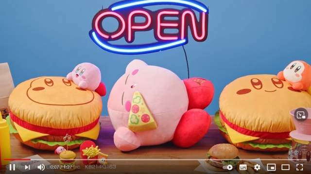 Nintendo superstar Kirby gorges on fast food for latest Japanese lottery prizes
