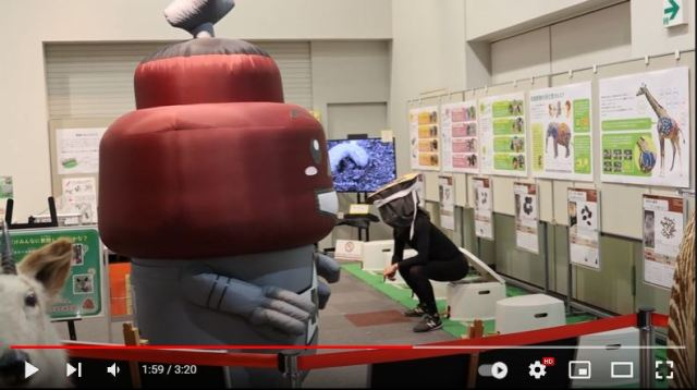 Kawaguchi's mascot Cupolan doesn't mind that you think it looks like a turd