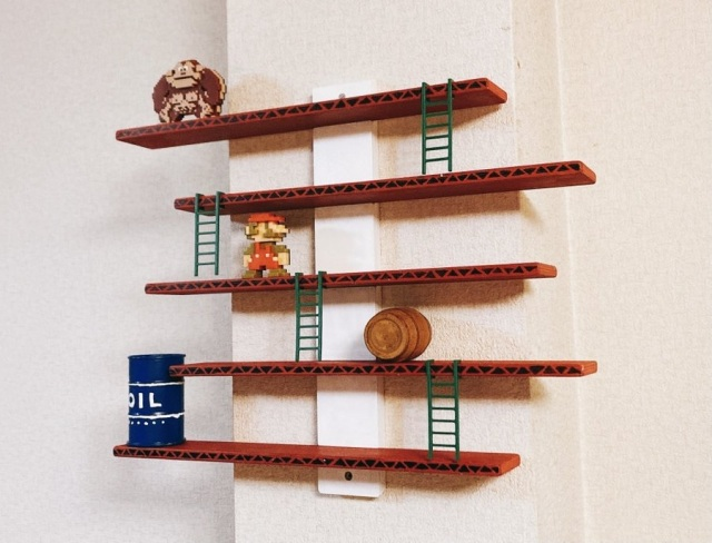 Want to turn Ikea shelves into an awesome Nintendo interior? Japanese game fan shows how【Photos】