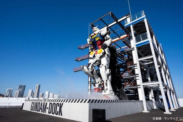 Free admission to life-size, renewable-energy Gundam center celebrates its eco-friendly movement
