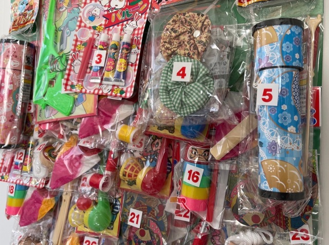 Retro Japanese toys make childhood lottery dreams come true