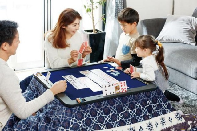 The world's best invention is now even better in the form of a specially built gaming kotatsu