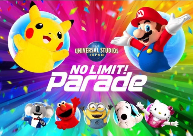 Super Mario and Pikachu join forces for new parade at Universal Studios Japan