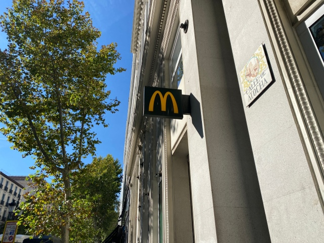 The difference between McDonald's in Japan and Spain