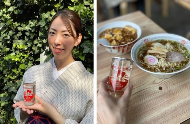 348-year-old sake brewery's newest creation: A special sake just to drink with ramen!