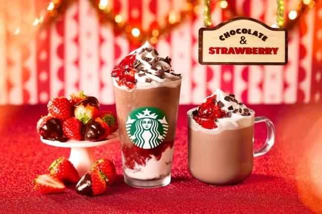 Christmas arrives at Starbucks in Japan with new festive Frappuccino and drinkware