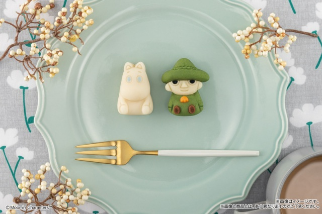 New Moomin and Snufkin Japanese sweets by Bandai will soothe your heart and tongue