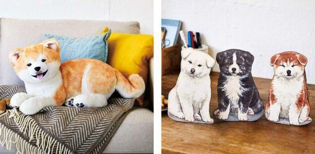 You+More now selling an adorable new Akita puppy plushie and tiny puppy pouches