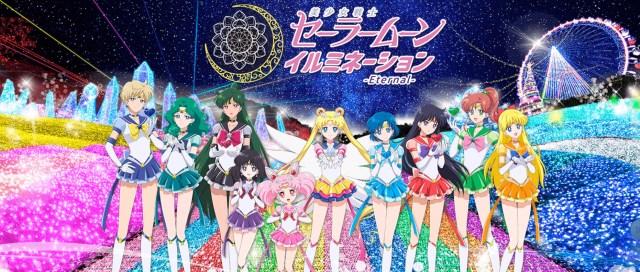 New Sailor Moon illumination event will bring Crystal Tokyo…or rather Crystal Kanagawa to life