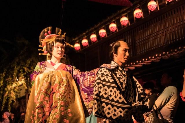 Historical Edo Wonderland celebrates 35th anniversary with fireworks and festivals